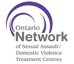 Ontario Network of Sexual Assault/Domestic Violence Logo